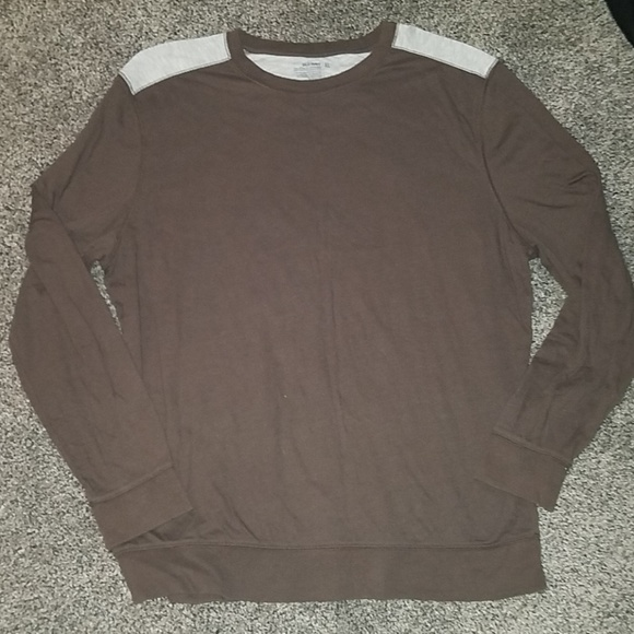 Old Navy Other - Old navy brown gray top size xl